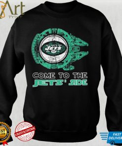 Come to the New York Jets Side Star Wars Millennium Falcon shirt